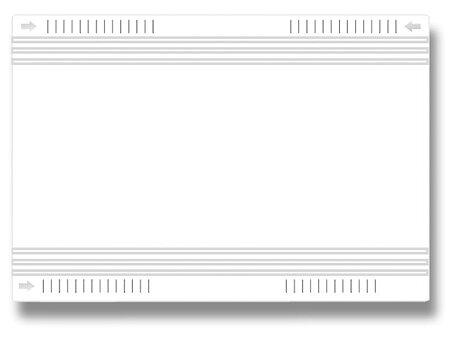 Obrázek produktu Univerzální obal na učebnice - silný, PVC, 120 my