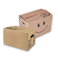 Krabice vhodná na stěhování