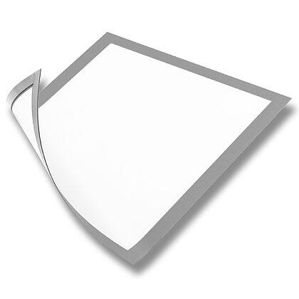 Obrázek produktu Durable Magnetic - magnetický rámeček - A4, stříbrný, 5 ks