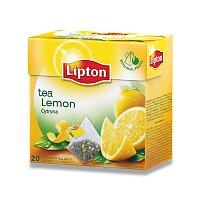 Černý čaj pyramida Lipton Lemon Tea