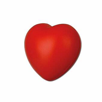 Obrázek produktu LOVE - pěnové antistresové srdíčko, červená