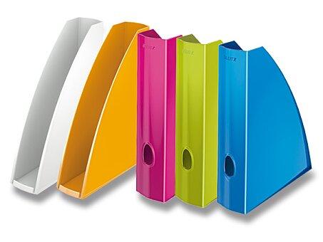 Obrázek produktu Otevřený archivační box Leitz Wow - plast, pro formát A4, výběr barev
