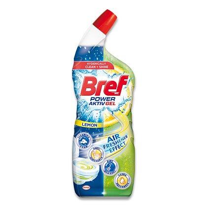 Obrázek produktu Bref Power Aktiv - wc gel - Lemon, 700 ml