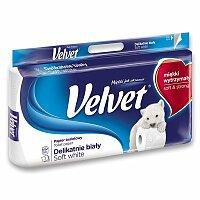 Toaletní papír Velvet Soft White