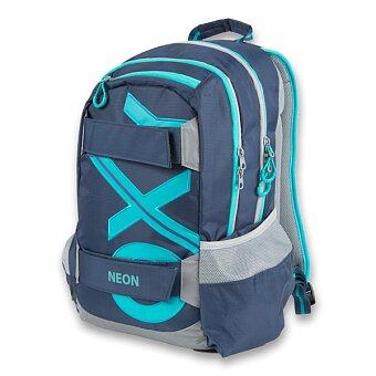 Obrázek produktu Studentský batoh OXY Sport Blue Line - Tyrkys