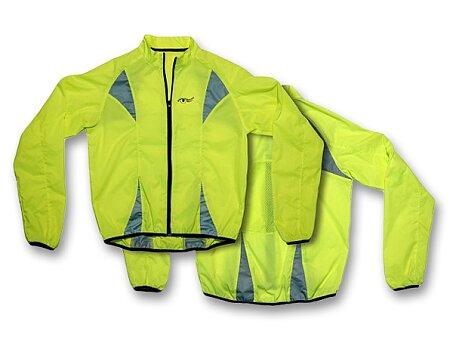 Obrázek produktu Reflexní bunda Compass žlutá - výběr velikostí