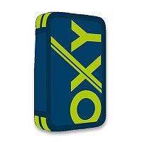 Penál OXY Sport Blue Line Green