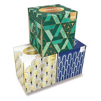 Obrázek produktu Papírové kapesníčky Kleenex Collection - 3 - vrstvé, 56 ks