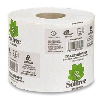 Obrázek produktu Toaletní papír Cerepa maxi recykl - 2 -vrstvý, návin 68 m, 1 role
