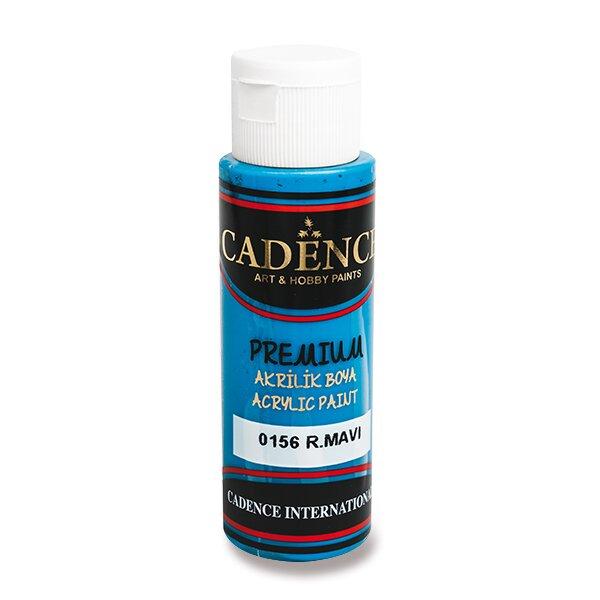 Akrylové barvy Cadence Premium královská modrá