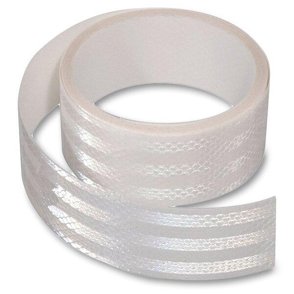 Samolepící reflexní páska 5 cm x 1 m bílá