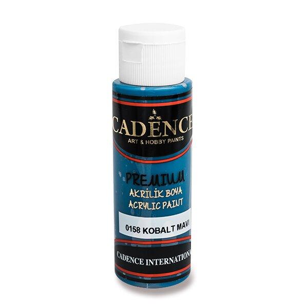 Akrylové barvy Cadence Premium modrá