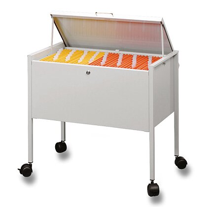 Product image Durable - lockable filling trolley