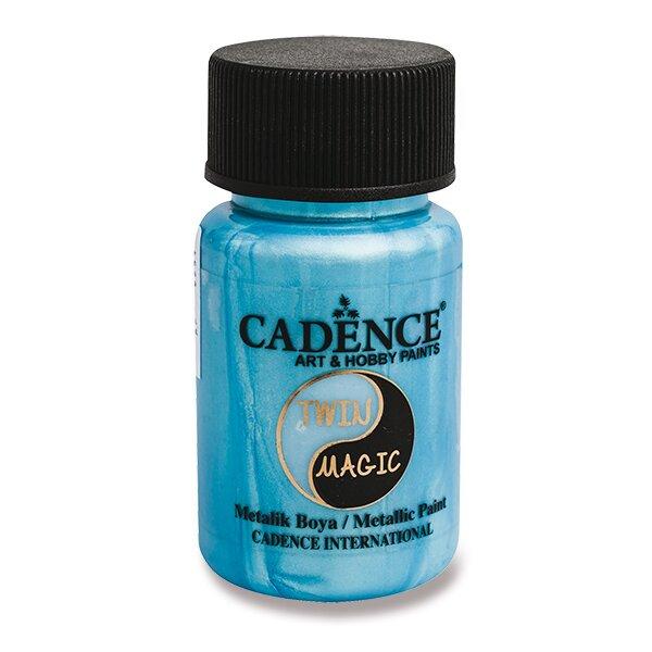 Metalická barva Cadence Twin Magic zel./modrá