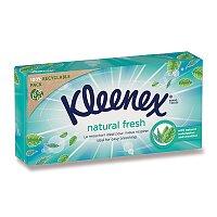 Papírové kapesníčky Kleenex Natural fresh