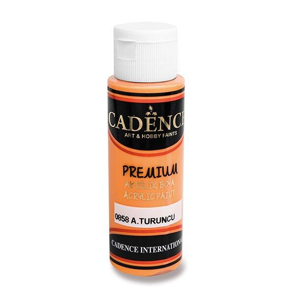 Akrylové barvy Cadence Premium sv. oranžová
