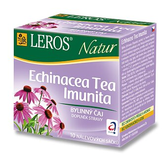 Obrázek produktu Bylinný čaj LEROS Natur  Echinacea Tea Imunita - 10 sáčků