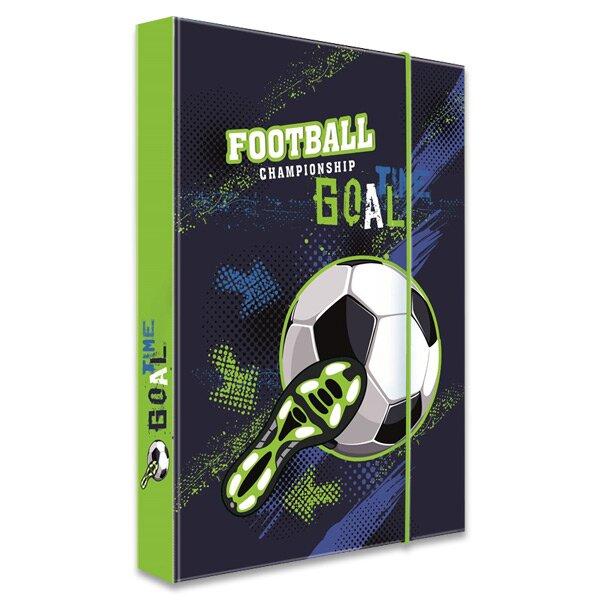 Box na sešity Fotbal A4