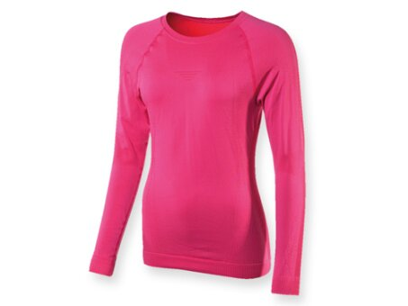 Obrázek produktu WALI WOMEN - dámské funkční tričko s dlouhým rukávem, 150 g/m2, vel. L-XL,MOIRA, růžová