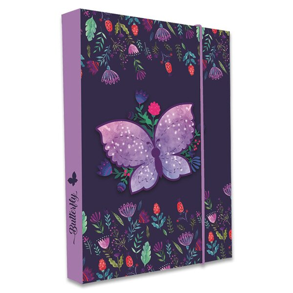 Box na sešity Motýl A4