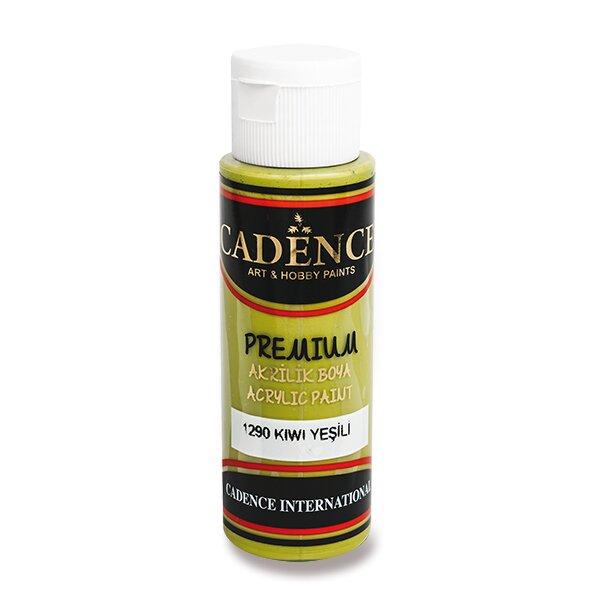 Akrylové barvy Cadence Premium sv. zelená