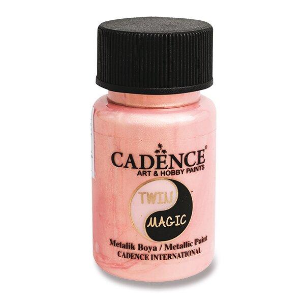 Metalická barva Cadence Twin Magic zlatá/růž.