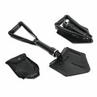 SHOVEL - kovová skládací lopatka, černá