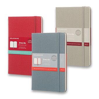 Obrázek produktu Zápisník Two-go - tvrdé desky - M, výběr barev