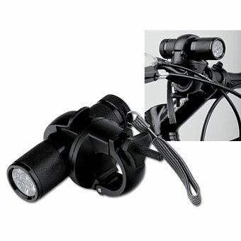 Obrázek produktu ELECTRA - kovová svítilna na kolo s 9 LED, černá