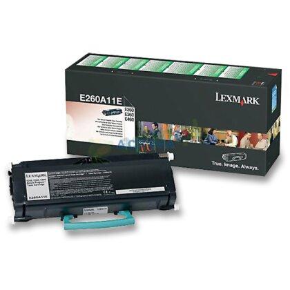 Obrázek produktu Lexmark - toner E260A11E, black (černý) pro laserové tiskárny