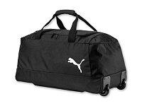 WHEELER - polyesterová cestovní taška na kolečkách, PUMA, černá