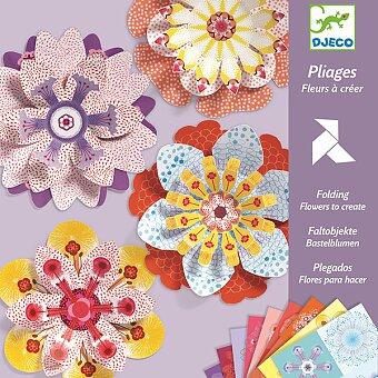 Origami sada Djeco - Květiny