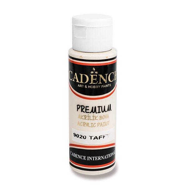 Akrylové barvy Cadence Premium sv. karamelová