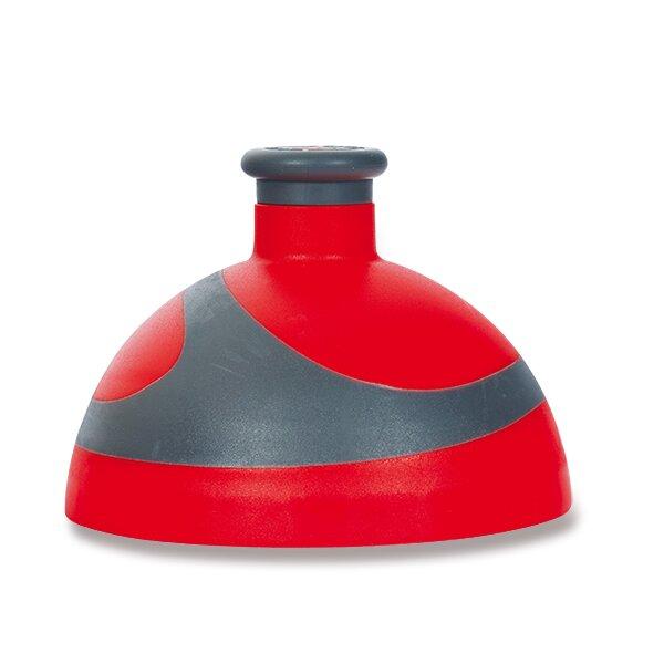 Kompletní víčko Zdravá lahev BIKE 2K červené