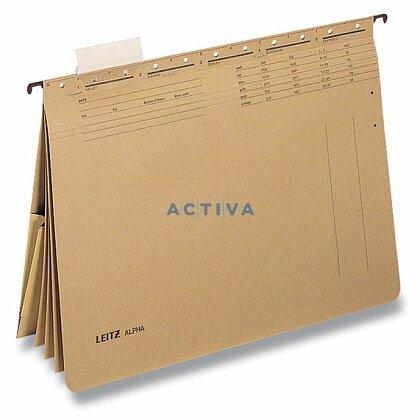 Obrázek produktu Leitz Alpha - závěsné zakládací desky - 4 rychlovazače s kapsou