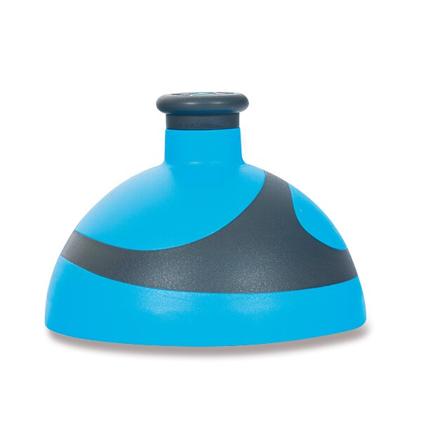 Kompletní víčko Zdravá lahev BIKE 2K modré