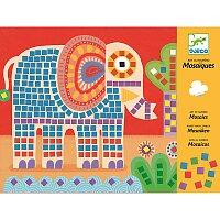 Mozaika Djeco - Slon a šnek