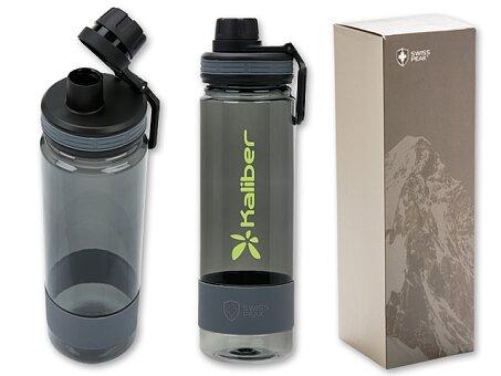 Obrázek produktu ACTIVER - nepropustná tritanová lahev s brčkem, 750 ml, černá