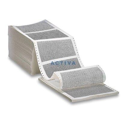 Obrázok produktu Tabelačný papier - tlačivo Vyúčtovanie mzdy - šírka 25 cm, výška 6 palcov, 1+2 s oddeliteľnou perforáciou