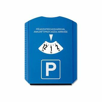Obrázek produktu LAURIEN - plastové parkovací hodiny se škrabkou, modrá