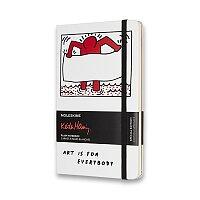 Zápisník Moleskine Keith Haring - tvrdé desky