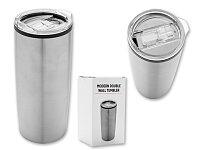 TERMINATOR - nerezový termohrnek s dvojitou stěnou, 590 ml