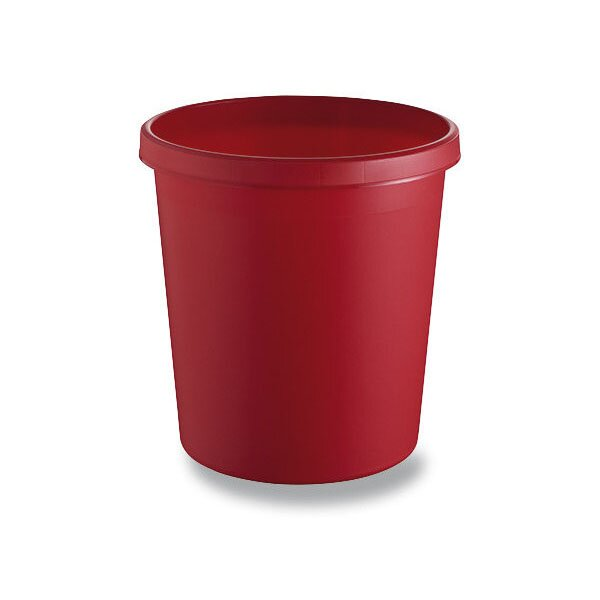 Odpadkový koš Helit červený