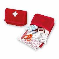 EMERY - lékárnička v polyesterovém obalu, červená