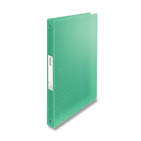 4kroužkový pořadač Esselte Colour´Ice ledově zelený