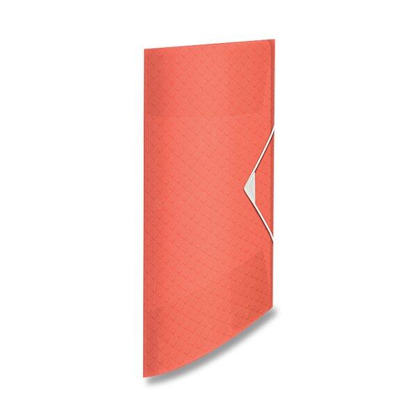 Spisové desky Esselte Colour'Ice ledově meruňková