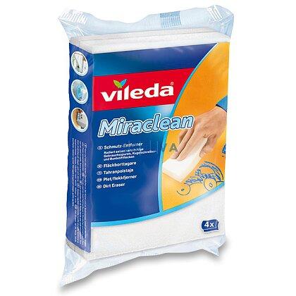 Obrázek produktu Vileda Miraclean - čisticí houbičky, 4 ks