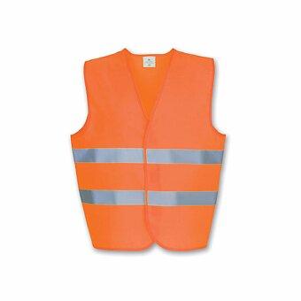 Obrázek produktu IRMA - polyesterová reflexní vesta, dospělá velikost, výběr barev