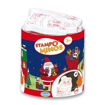 Obrázek produktu Razítka Aladine Stampo Minos - Pohádkové Vánoce - 10 ks