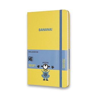 Obrázek produktu Zápisník Moleskine Mimoni - tvrdé desky - L, linkovaný, žlutý